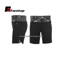 China FTFNS013 Ladies Fitness Short, 90%Polyester,10%Spandex,elastic fabric,XS-XXL, any color you required on sale