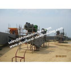 China Structural Industrial Steel Buildings Fabrication Construction For Containers Tanks Industrial Boiler on sale
