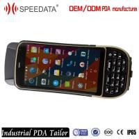 Mobile Handheld UHF RFID Reader , Computer Rugged Portable Rfid Reader Phone 1M Range