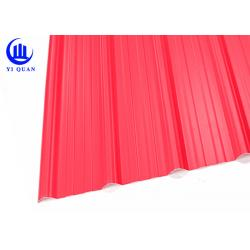 China Acid Proof APVC Corrugated Pvc Roofing Sheets Plain Roof Tiles on sale