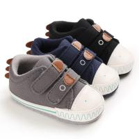 Hot selling Canvas sport Cute soft 0-2 years boy girl outdoor sneaker baby shoes boy