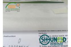 Китай T / Интерлининг простого Веаве к сплетенный простиранием на люди/брюки 3272 женщин поставщик