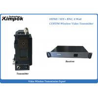NLOS COFDM Microwave Transmitter Full HD Wireless Transmitter And Receiver Short Latency