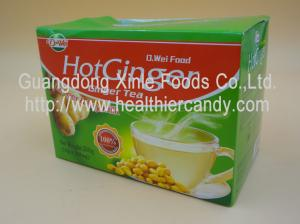 Low Fat Soybean Ginger Tea Particle Instant Juice Powder For Cold