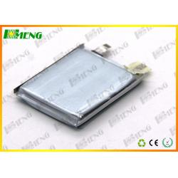 China Polymer 3.7V Rechargeable Lithium Batteries / 500 Mah 503040 Thin Lithium Polymer Battery  on sale