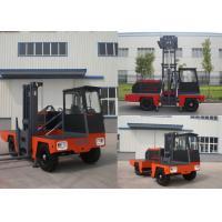Multi - Direction 5000kg Diesel Engine Forklift Side Loader 6 meter Highest Mast