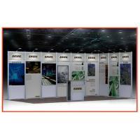 Aluminum Frame Expo Booth Displays Heavy-Duty Portable Eco-Friendly