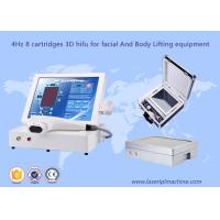 12 Lines 3D HIFU Machine Focused Ultrasound Anti Wrinkle Body Slimming