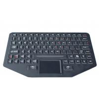 89 key Silicone backlit  ruggedized keyboard with sealed touchpad , optional trackball