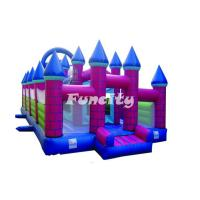 Guard Castle Inflatable Bouncy Castle For Kids Holding Party / Having Fun