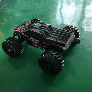 China 80A ESC Chassis Metal Electric Off Road RC Trucks / Fully Sealed Brushless RC Auto supplier