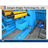 3 KW Hydraulic Unit Passive Hydraulic Uncoiler Machine with 480 - 510 mm Coil Inside Diameter