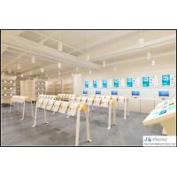 O2O internet company traing and selling center famus brand mobile phone display cabinet and study room furniture