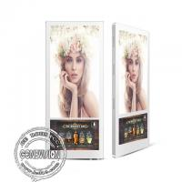 Elevator Digital Signage 18.5'' Android Advertising Display With Double Screen Wall Mountable