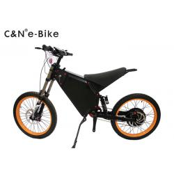China 80-100km big power ebike Full suspensionelectricbike3000w60V 72V with Panasonic lithium battery on sale