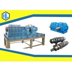 China Blue Color Organic Waste Shredder , Garden / Yard Leaves Shredder Machine on sale