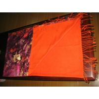 Customized Long Silk Pashmina Scarf Multicolor For Girls