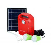 Mini Portable Solar Power System Kit With Torch USB Output Compact Design