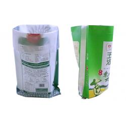 China Double Stitched Woven Polypropylene Feed Bags , 25kg Pet Food Bags on sale