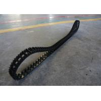 1.25kg High Friction Robot Rubber Tracks Easy To Change Size 50 X 25 X 101