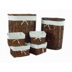 White Wicker Laundry Basket White Wicker Laundry Basket