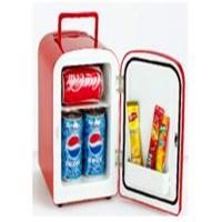 Clear Glass Small Portable Refrigerator , 4L Portable Mini Fridge For Car