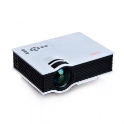 China Multimedia HDMI Unic LED Mini Projector / Home Theatre Projectors on sale