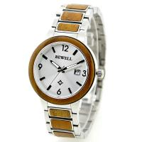 KOA wood and stainless steel watches Butterfly Clasp 5 ATM Waterproof
