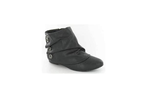 Flat Ankle Boots For Women Non-slip flat ankle boots
