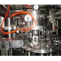 Energy drinks, wine bottle glass bottle carbonated filling machine / soft drink machinery