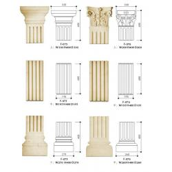 Outdoor hollow columns outdoor hollow columns for Decorative exterior columns for house