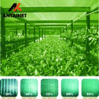 High quality HDPE30%-95% green shade net with UV stabilizer,shade cloth