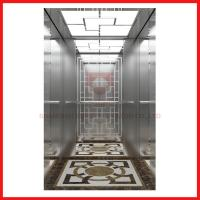 Small Home Low Noise High Speed Elevator For 5 Persons , Stainless Steel Door Design