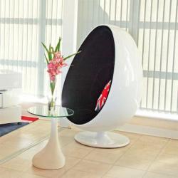 Arne jacobsen egg chair replica arne jacobsen egg chair for Iconic mid century modern furniture