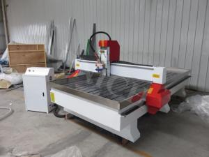 Woodworking CNC Router machine with water tank for stone and aluminium engraving