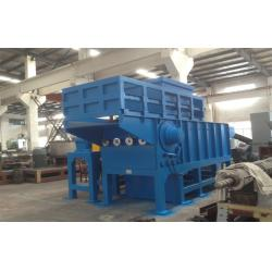 China Plastic Crusher Machine Plastic PE Recycling Crusher Of Single Shaft Shredder on sale