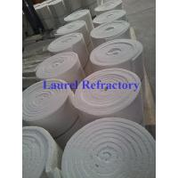 Sound Absorption Ceramic Fiber Refractory , Ceramic Insulation Blanket