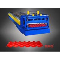 960 Type Steel Plate Glazed Tile Forming Machine , Metal Roofing Roll Former