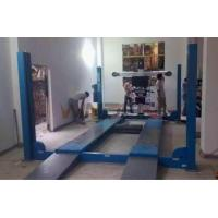 Double Hydraulic Balance System Four Post Car Lifts Second Jack 4000kg