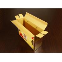 Matte / Gloss Lamination Custom Printed Recycled Food Boxes For Shopping Bag