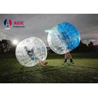 Water Walking Floating Roller Body Zorb Ball For Pool Games , Clear Inflatable Ball