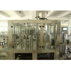 China PET Bottles 3 in1 Monoblock Fruit Juice / Water / Beer Filling Machine Production Line on sale