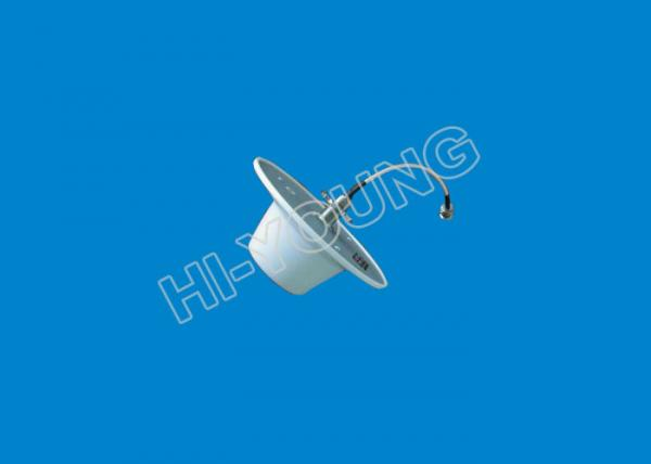 China Indoor 800-2700MHz 3/5dBi Omni Ceiling Antenna , Omni Directional Wifi Antenna supplier