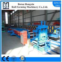 PLC Control CZ Purlin Roll Forming Machine 1000mm Raw Material Width