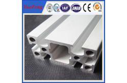 China perfil de alumínio anodizado industrial feito sob encomenda do alumínio do entalhe do quadrado T do perfil de 6000 séries fornecedor