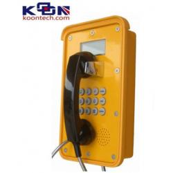 China Dual Tone Multi Frequency DTMF Waterproof Telephone VOIP Line Ac Powered on sale