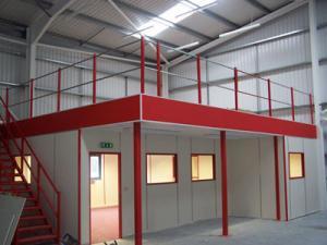 Building Mezzanine Floor Racking Industrial Racking And