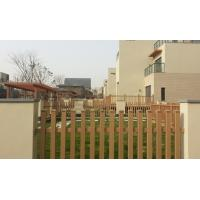 Sandalwood WPC Fence panels and Plastic Wood Wall Grid for Countryard