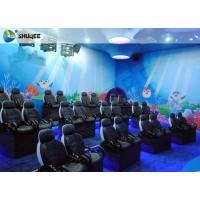 Electric Cylinder Dynastic 5D Cinema Theatre With Individual CPU Control For Museum Park