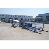 PE / PP / PVC / WPC Plastic Sheet Extrusion Line For Building Template Board SJSZ-92/188